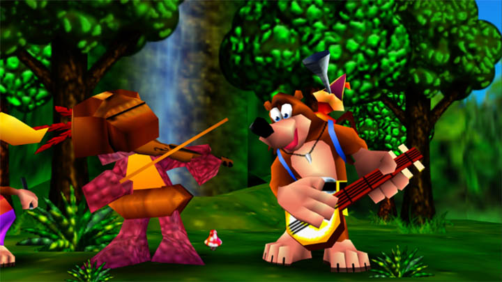Banjo Kazooie's charming musical intro on Xbox One