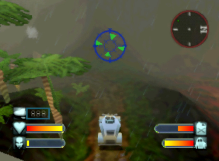 The Java 1941 location in Body Harvest for Nintendo 64.