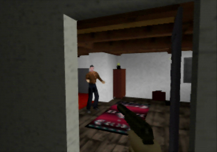 Bodega mission from N64 game mod Goldfinger 64