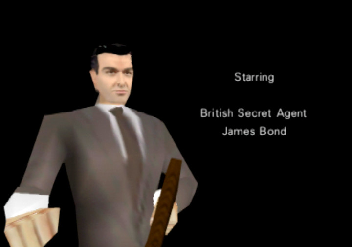 Sean Connery's James Bond in Goldfinger 64 for Nintendo 64