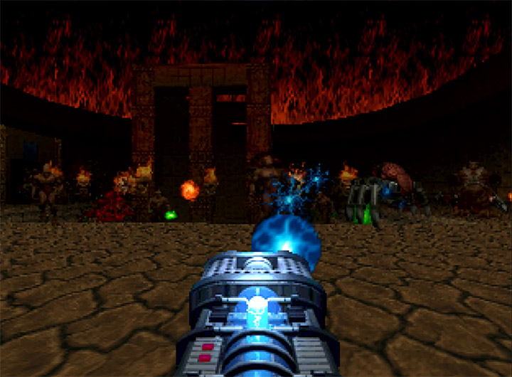 The Absolution stage from Doom 64 for N64.
