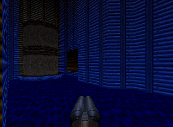 Treading water in Doom 64 for Nintendo 64
