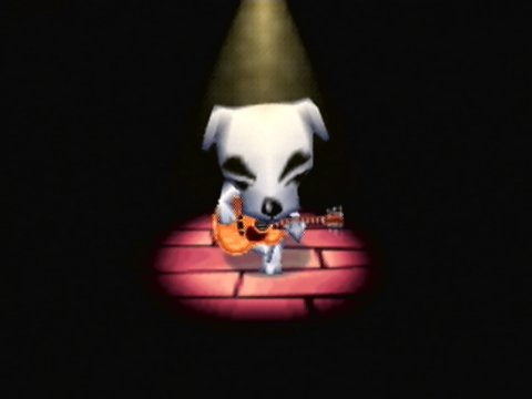 KK Slider, as seen in Animal Forest for the Nintendo 64