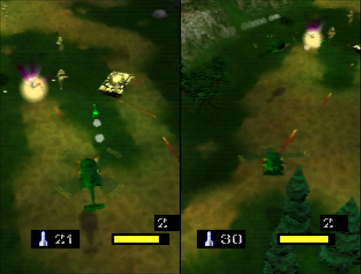Army Men: Air Combat, one of many N64 coop games.