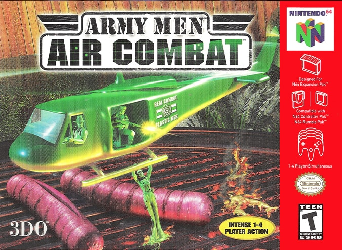 Army Men: Air Combat North American box art