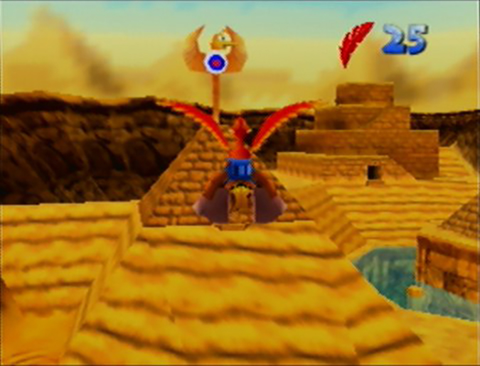 Aiming for the bullseye in Gobi's Valley, Banjo-Kazooie