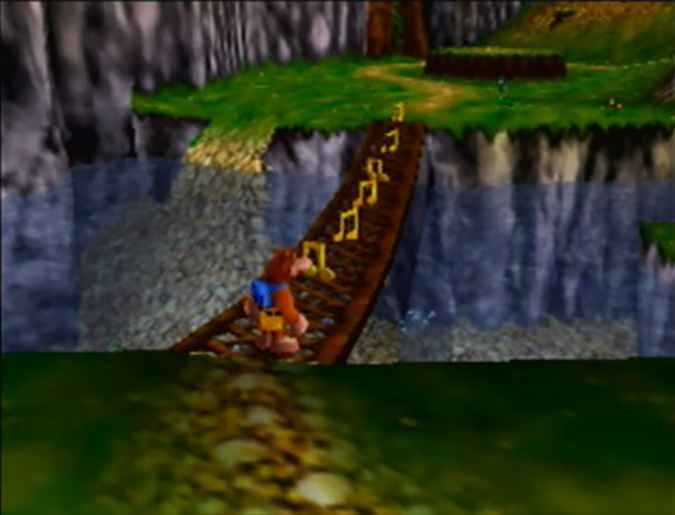 Mumbo's Mountain level from Banjo-Kazooie for N64.