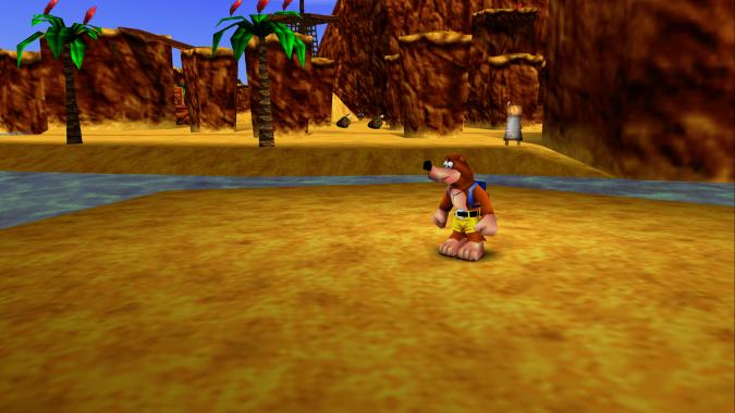 Treasure Trove Cove in Banjo-Kazooie Xbox 360 version