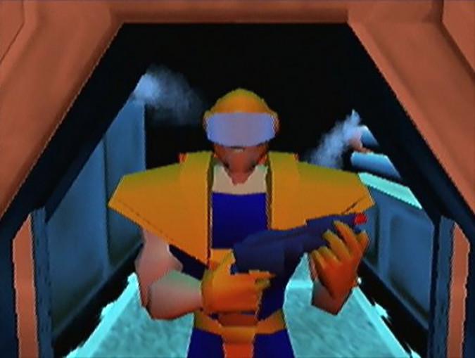 Adam Drake, the protagonist of Body Harvest