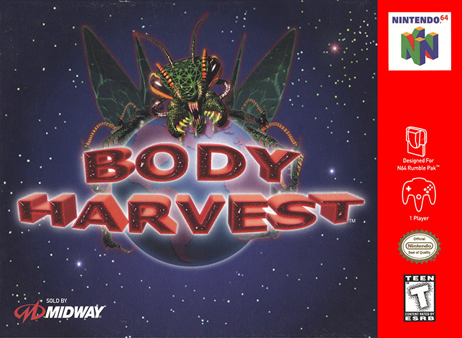 Body Harvest (Nintendo 64) box art