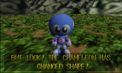 Davy, one of the main characters in Chameleon Twist for N64