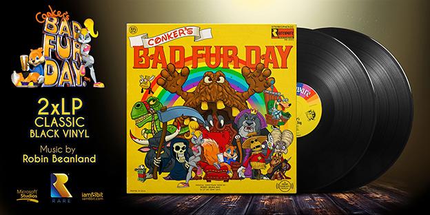 Conker's Bad Fur Day vinyl soundtrack
