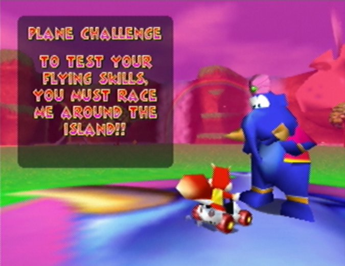 Taj the Elephant in Diddy Kong Racing for N64