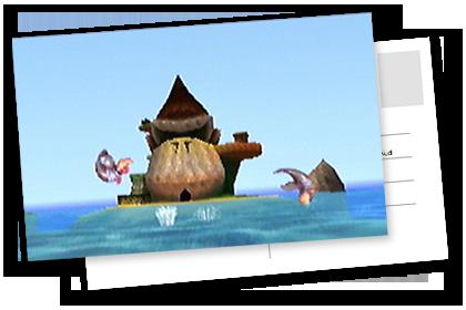 DK Island in Donkey Kong 64