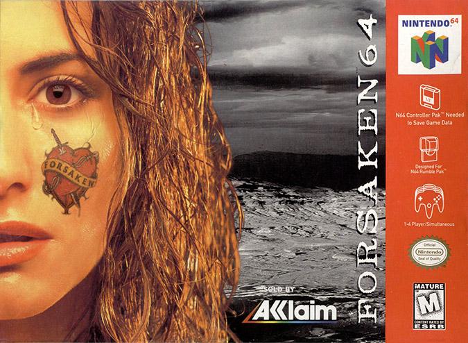 Forsaken NTSC N64 box art cover