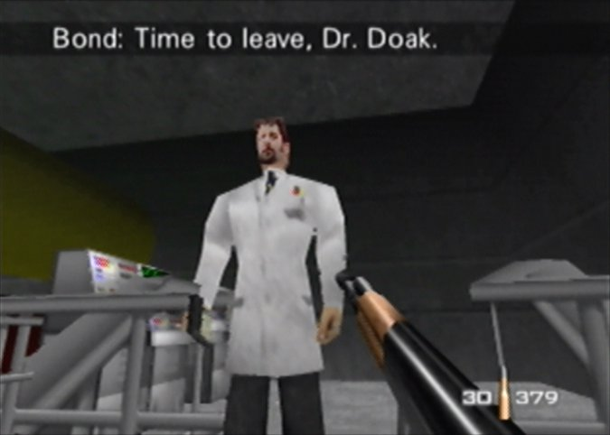 Dr Doak in GoldenEye 007 for N64
