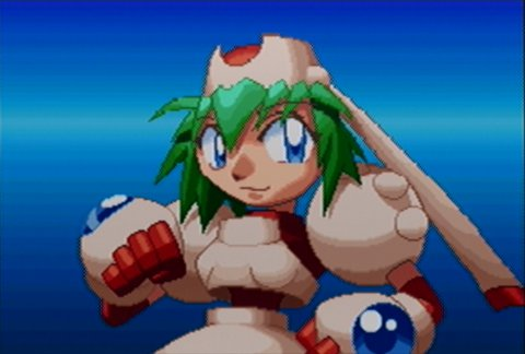 Marina, the protagonist of Mischief Makers for N64