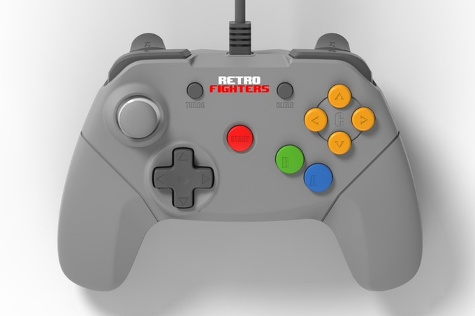 N64 Retrofighters Controller