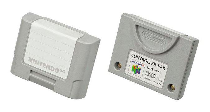 Nintendo 64 Controller Pak (memory card)