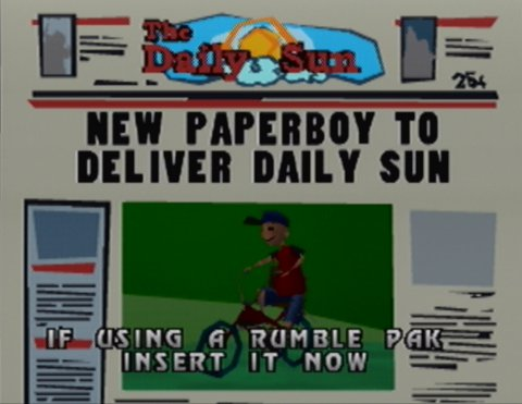 The Daily Sun newspaper from Paperboy 64