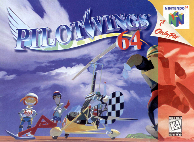 Pilotwings 64 NTSC box art