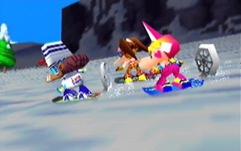 Snowboard Kids (N64) intro cinematic