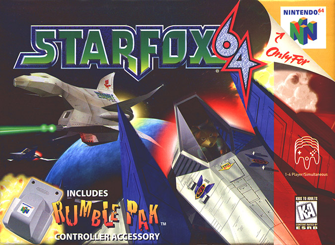 Star Fox 64 box art