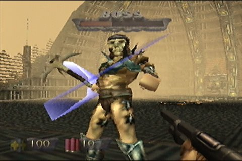 The Campaigner, the main antagonist of Turok: Dinosaur Hunter for N64