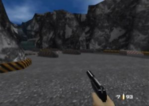 Byelomorye Dam mission from GoldenEye 007 for Nintendo 64
