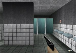 Toilets in GoldenEye's Facility level for N64 - GoldenEye 007 hi-res patch