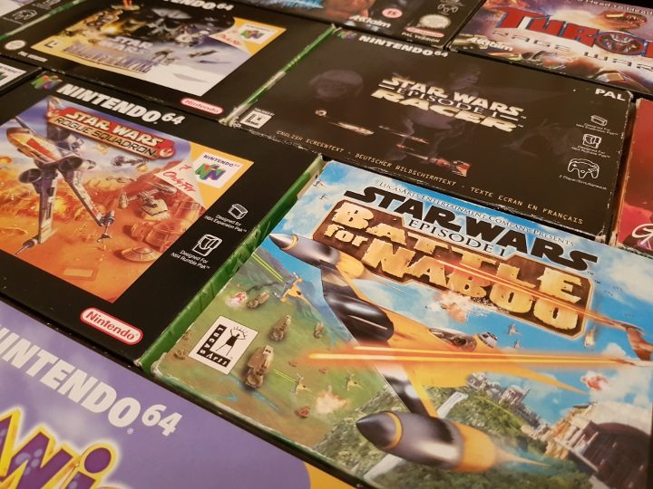 N64 Star Wars Games (PAL versions)