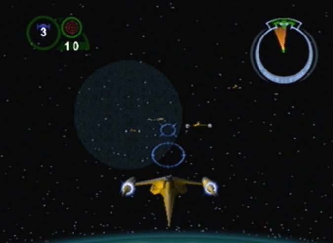 Disruption of Comm 4 mission from Star Wars Episode 1: Battle for Naboo on N64