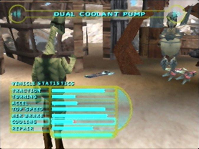 Watto's Junkyard as seen in Star Wars Episode 1: Racer for N64