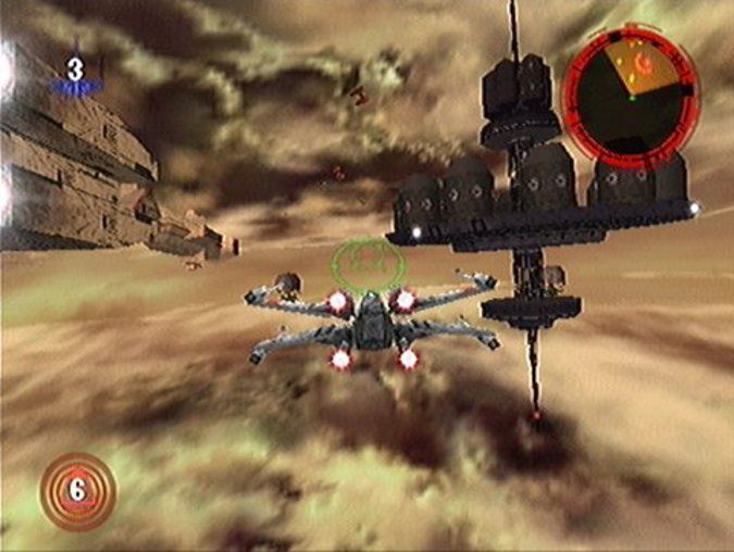 Star Wars: Rogue Squadron, one of four N64 Star Wars games.