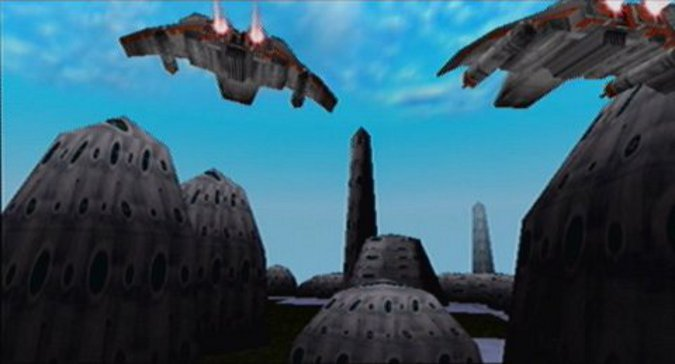 The Battle of Calamari mission in Star Wars: Rogue Squadron for N64