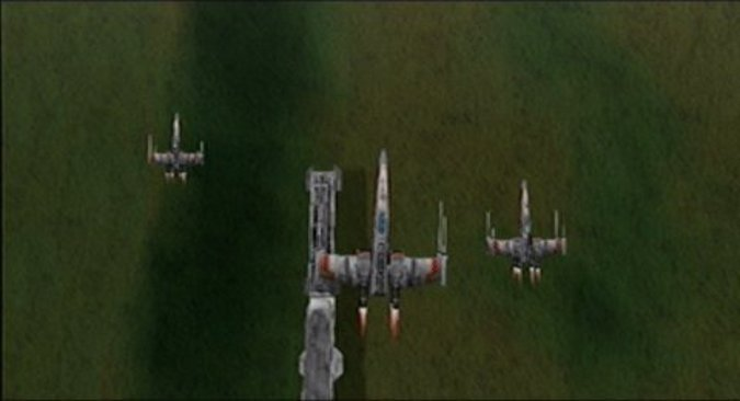 Blockade on Chandrila mission in Star Wars: Rogue Squadron for N64