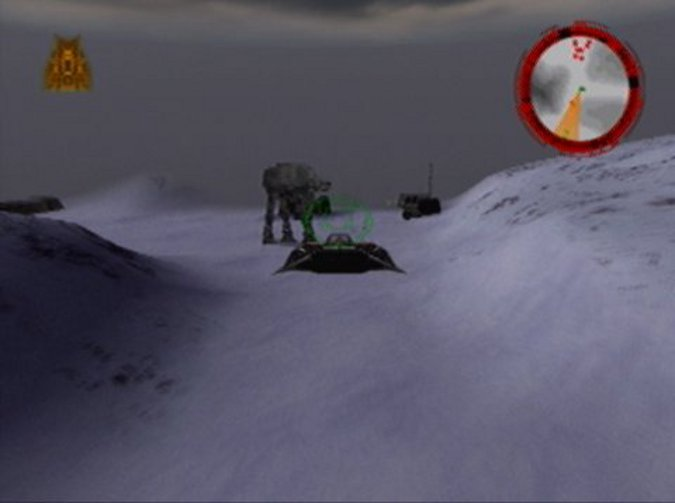 Escape from Fest, one of the hardest Star Wars: Rogue Squadron missions