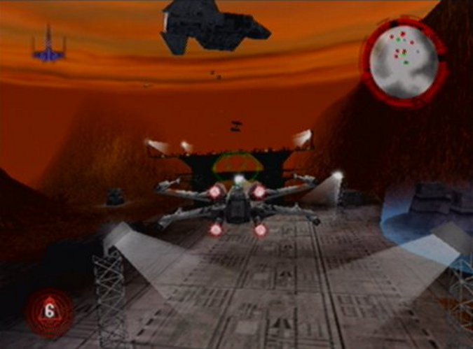 Prison rescue in Star Wars: Rogue Squadron's Prisons of Kessel mission.