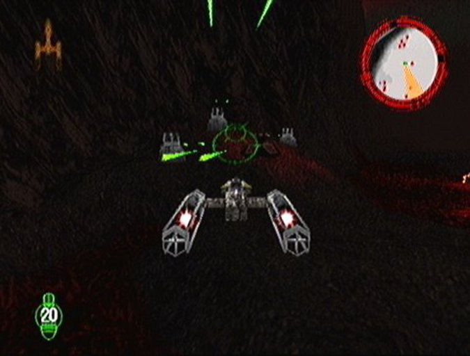 Y-wing in Star Wars: Rogue Squadron's Raid on Sullust mission.