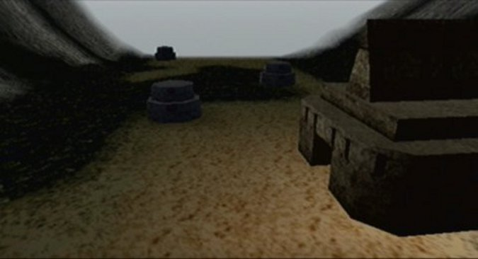 The planet Thyferra as portrayed in Star Wars: Rogue Squadron for N64