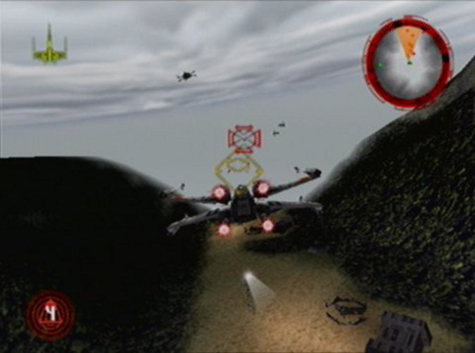Moff Seerdon's Revenge mission in Star Wars: Rogue Squadron for N64