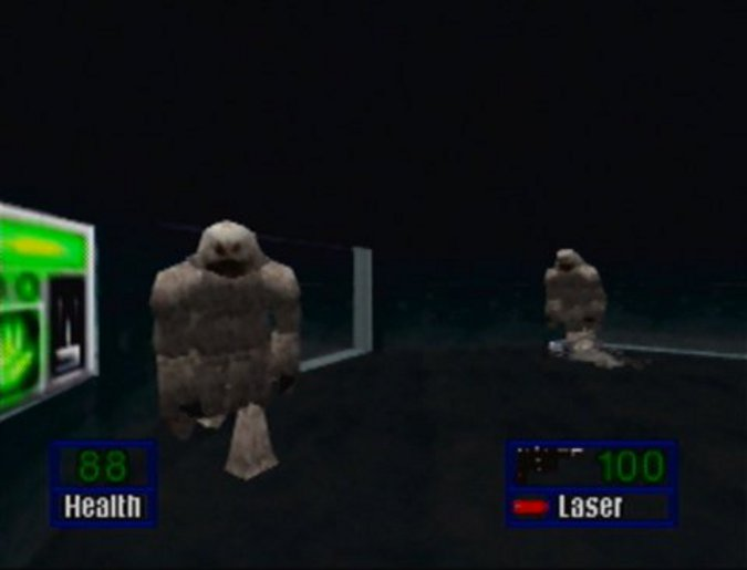 Wampas in Star Wars: Shadows of the Empire for N64