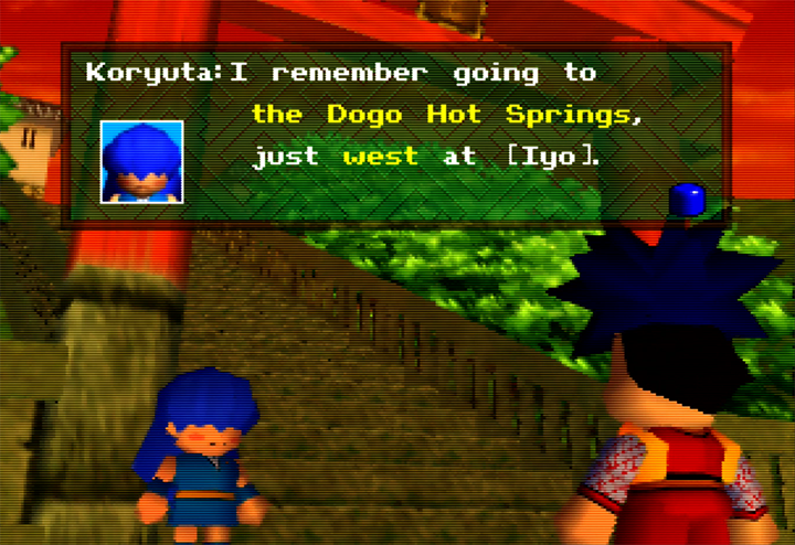 Koryuta from Mystical Ninja Starring Goemon for N64