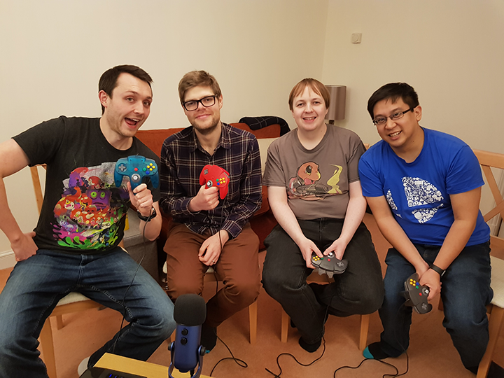 N64 Today's GameBlast18 stream team