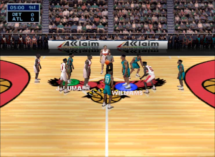 NBA Jam 99 two player coop season mode on Nintendo 64