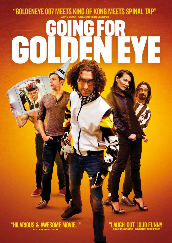 Going for Golden Eye Blu-ray/DVD cover