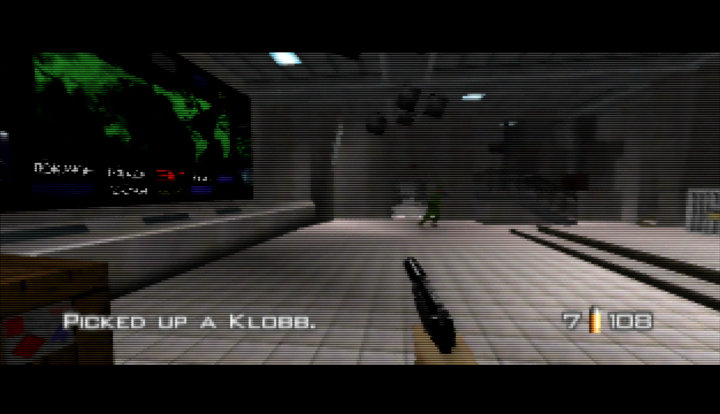 GoldenEye 007 (N64) - UltraHDMI cinema fill mode