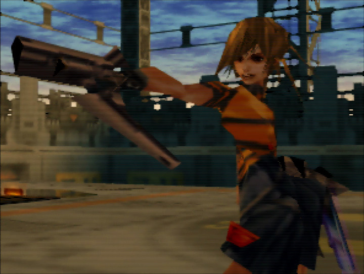 Saki, from Sin & Punishment, one of the best Japanese N64 games