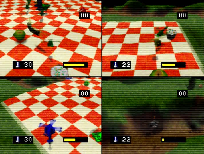 Army Men: Air Combat four-player multiplayer on Nintendo 64