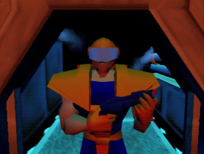 Body Harvest running on an UltraHDMI N64